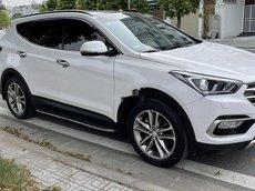 Bán ô tô Hyundai Santa Fe sản xuất năm 2016, màu trắng chính chủ, giá 738tr