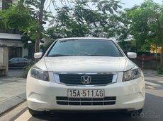 Cần bán gấp Honda Accord năm sản xuất 2009, màu trắng, nhập khẩu, giá 485tr