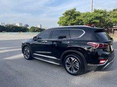 Cần bán Hyundai Santa Fe năm 2018, màu đen còn mới