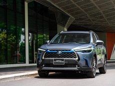 Toyota Corolla Cross 2021, với 265 triệu nhận ngay xe, xe nhập nguyên chiếc hỗ trợ bank 85% giá trị xe, xe giao ngay