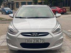 Cần bán gấp Hyundai Accent 2014, màu bạc số tự động