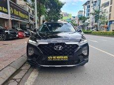 Bán xe Hyundai Santa Fe đời 2020, màu đen như mới
