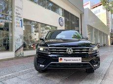 Xe Volkswagen Tiguan Luxury S 2021 đen nội thất cam - đen độc lạ hiếm có, giao xe ngay