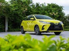Bán Toyota Yaris đời 2021, màu vàng, 668tr, giao xe ngay