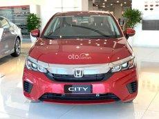 [Honda Bình Dương] Honda City sản xuất năm 2021, siêu ưu đãi, trả trước chỉ từ 170, tặng 1 năm bảo hiểm vật chật, đủ màu