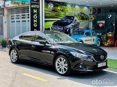 Bán ô tô Mazda 6 đời 2014, màu đen, giá 595tr