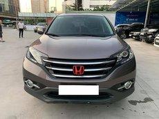 Cần bán lại xe Honda CR V 2.4AT đời 2014, màu trắng chính chủ