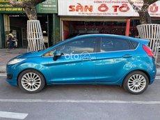 Xe Ford Fiesta sản xuất 2014, màu xanh lam, xe nhập, giá tốt