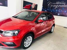 Volkswagen Polo Hatchback màu đỏ sunset nhập khẩu 2021 - ưu đãi hấp dẫn