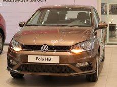 Volkswagen Polo Hatchback nâu hổ phách - Xe Đức nhập khẩu 2021 100% - xe nhiều màu có sẵn - giao ngay - nhiều ưu đãi hấp dẫn