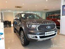 Ford Everest 2.0 AT 4x4 màu xám 2021, giao xe tận nhà, giá tốt, hỗ trợ trả góp lên đến 80%