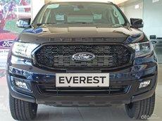 Bán Ford Everest 2021, màu xanh lam, nhập khẩu Thái Lan
