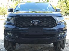 Xe nhập khẩu Thái Lan Ford Everest Titanium 4x2 2021 xanh lam, hỗ trợ nhiều ưu đãi