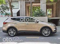 Cần bán xe Hyundai Santa Fe sản xuất năm 2018, màu nâu