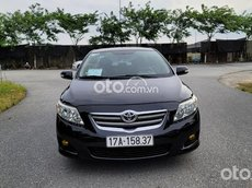 Cần bán xe Toyota Corolla Altis sản xuất năm 2008, màu đen