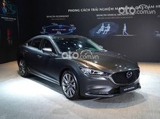 Cần bán xe Mazda 6 2.0L Luxury đời 2021, màu xám, 889 triệu