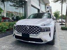 Bán ô tô Hyundai Santa Fe đời 2021, màu trắng
