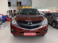 Bán Mazda BT 50 2014 số sàn, màu đỏ