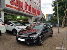 Sàn ô tô Hà Nội bán Honda Civic 1.5L Turbo nhập khẩu màu đen sản xuất tháng 10/2017 xe tư nhân chính chủ một chủ từ đầu