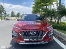 Bán xe Hyundai Kona 1.6 Turbo đời 2019 màu đỏ pha lê cực đẹp, biển thành phố, còn nguyên bản, hỗ trợ 70% giá trị xe