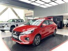 Mitsubishi Attrage - giá tốt nhất Hà Tĩnh + máy lọc không khí, - 50% phí trước bạ giá chỉ còn 356 triệu đồng, trả góp 80%, đủ màu giao ngay