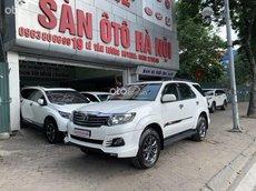 Sàn ô tô HN bán Toyota Fortuner 2.7AT số tự động màu trắng, sản xuất 2016