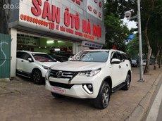 Sàn ô tô Hà Nội bán Toyota Fortuner 2.4AT số tự động màu trắng sản xuất 2019