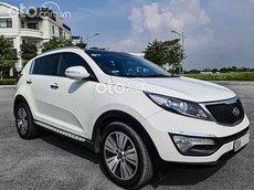 Cần bán xe Kia Sportage Limited đời 2014, màu trắng, xe nhập