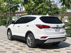 Cần bán Hyundai Santa Fe 2016, màu trắng