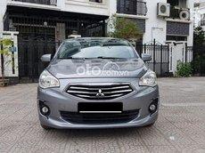 Cần bán gấp Mitsubishi Attrage AT 2017, màu xám giá cạnh tranh