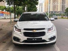 Bán xe Chevrolet Cruze LTZ sx năm 2018, màu trắng số sàn