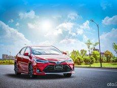 Bán ô tô Toyota Corolla Altis 1.8E CVT 2021, màu đỏ, 733 triệu