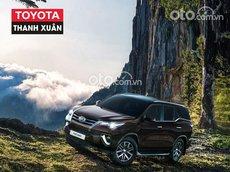 Bán Toyota Fortuner 2.7AT 4x4 đời 2021, màu nâu