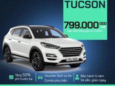 Bán Hyundai Tucson sản xuất năm 2021, màu trắng, giá 799tr