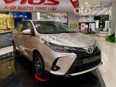 Toyota Vios E 2021 giảm 50% phí trước bạ + nhiều ưu đãi khác, xe có sẵn giao ngay