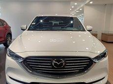 Bán xe Mazda CX-8 Deluxe 2021, màu trắng, nhập khẩu nguyên chiếc giá cạnh tranh