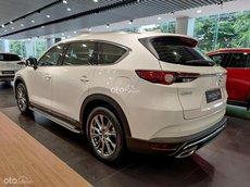 Bán xe Mazda CX-8 Luxury 2021, màu trắng - Ưu đãi lên đến 10 triệu