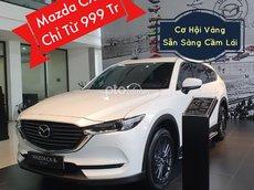 Bán Mazda CX-8 năm sản xuất 2021, màu trắng, giá chỉ 999 triệu