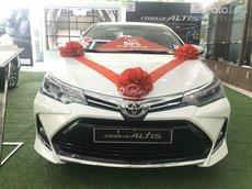 Toyota Corolla Altis 2021, ưu đãi sốc T7 tặng gói phụ kiện 20tr + giảm tiền mặt 30tr, hỗ trợ lái thử, sẵn xe giao ngay