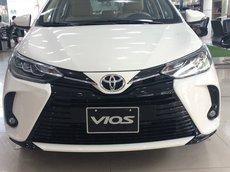 Bán xe Toyota Vios 1.5G đời 2021, màu trắng, 570tr