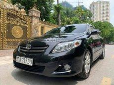 Cần bán lại xe Toyota Corolla Altis đời 2009, màu đen