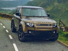 Land Rover Defender 110 First Edition D240 2021 máy dầu màu đồng, model 2021, xe có sẵn giao ngay