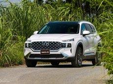 (Hyundai Hà Nội) bán Hyundai Santa Fe 2021 - Ưu đãi 20tr tiền mặt, giá ưu đãi nhất mùa covid, xe đủ màu, đủ bản