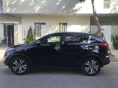 Cần bán lại xe Kia Sportage đời 2011, màu đen, xe nhập