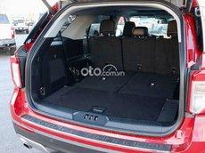 Bán xe Ford Explorer Limited 2.3 EcoBoost sản xuất 2021, màu đỏ, xe nhập
