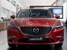 Bán ô tô Mazda 6 Deluxe sản xuất 2021, màu đỏ, 819 triệu