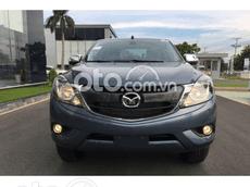 Bán ô tô Mazda BT 50 Deluxe 4x2 đời 2021, màu xanh, giá bán 604 triệu