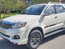 Bán Toyota Fortuner V đời 2015, màu trắng chính chủ giá cạnh tranh