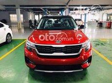 Bán ô tô Kia Seltos 1.4turbo Deluxe năm 2021, màu đỏ
