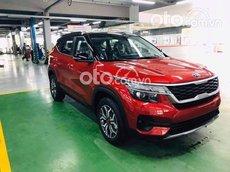 Bán ô tô Kia Seltos 1.4turbo Luxur năm 2021, màu đỏ, giá chỉ 659 triệu
